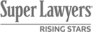 Only 2.5% of attorneys in a given state are selected for inclusion on the Rising Stars® list. Members must be aged 40 or younger, or be in practice for 10 years or less.
